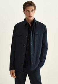 Massimo Dutti - Light jacket - dark blue - 0