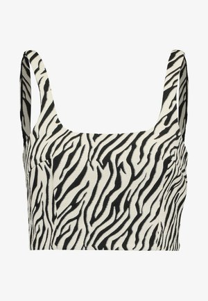 CECILE - Blouse - black/white