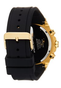 Guess - SWAROVSKI CRYSTALS - Ure - black/gold-coloured