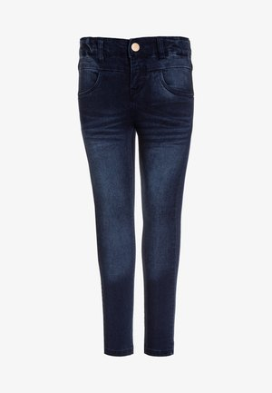 NKFPOLLY PANT  - Jeansy Skinny Fit - dark blue denim
