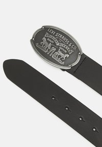 Levi's® - BILLY PLAQUE BELT - Skärp - regular black - 1