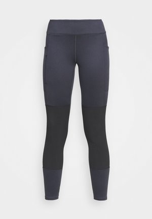 PACK OUT HIKE  - Leggings - smolder blue