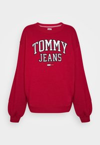 Tommy Jeans - COLLEGIATE LOGO - Sweatshirt - wine red - 0