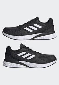 adidas Performance - RESPONSE RUN - Zapatillas de running neutras - core black/ftwr white/grey six - 3