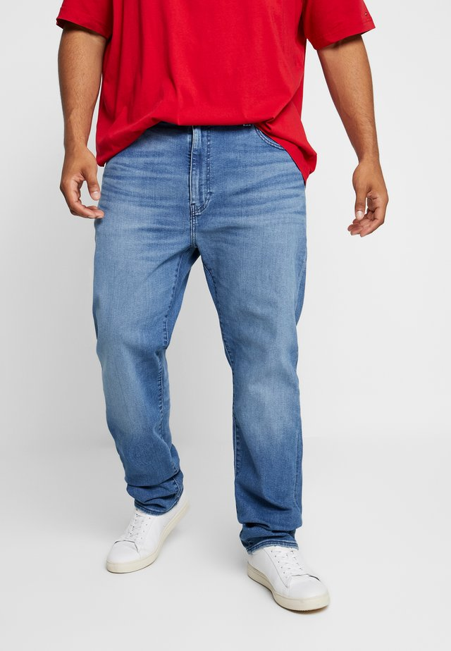 502™ REGULAR TAPER - Jeansy Straight Leg - light-blue denim