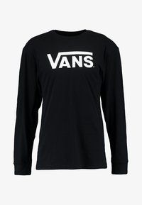 Vans - CLASSIC FIT - Long sleeved top - black/white - 4