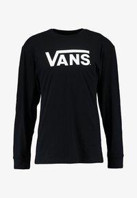 CLASSIC FIT - Maglietta a manica lunga - black/white