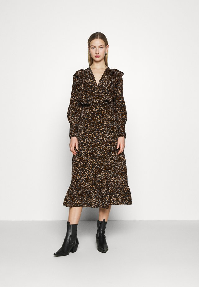 CLAIRE DRESS - Korte jurk - black