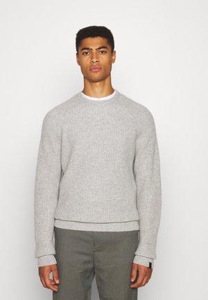 PIERCE CREW - Trui - light grey
