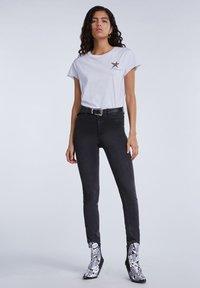 SET - Print T-shirt - bright white - 1