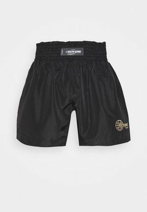 INSPIRED FROM BOXING - Teplákové kalhoty - black