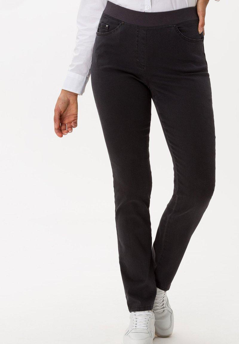 BRAX - STYLE PAMINA - Slim fit jeans - anthra