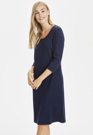SUSCR - Sukienka z dżerseju - royal navy blue