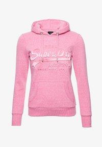 pink snowy