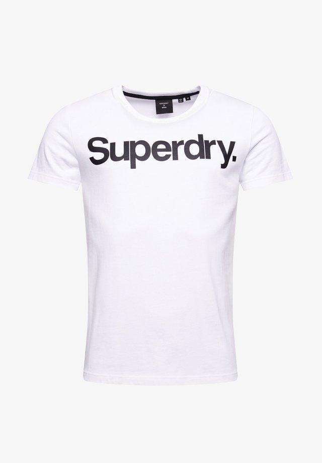 CORE - T-shirt print - optic