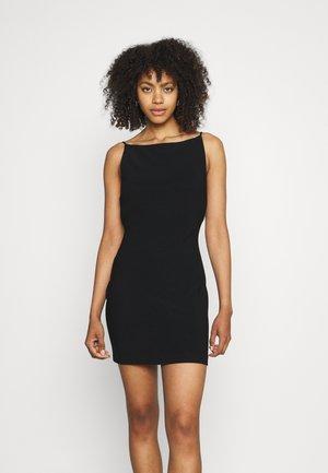 MADDISON BOAT DRESS - Cocktailkjole - black