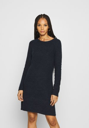 VISURIL O-NECK DRESS - Jumper dress - navy blazer/melange