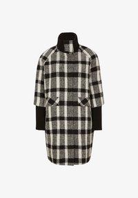 comma - Short coat - black white - 6