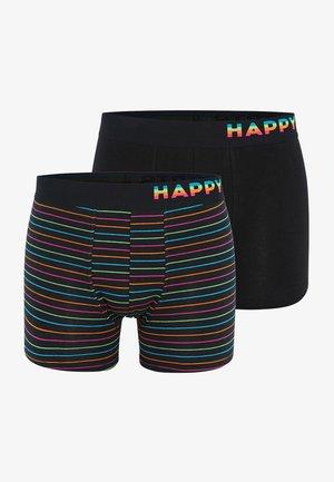 2 PACK - Onderbroeken - rainbow stripes