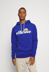 Ellesse - GOTTERO - Bluza z kapturem - blue - 0