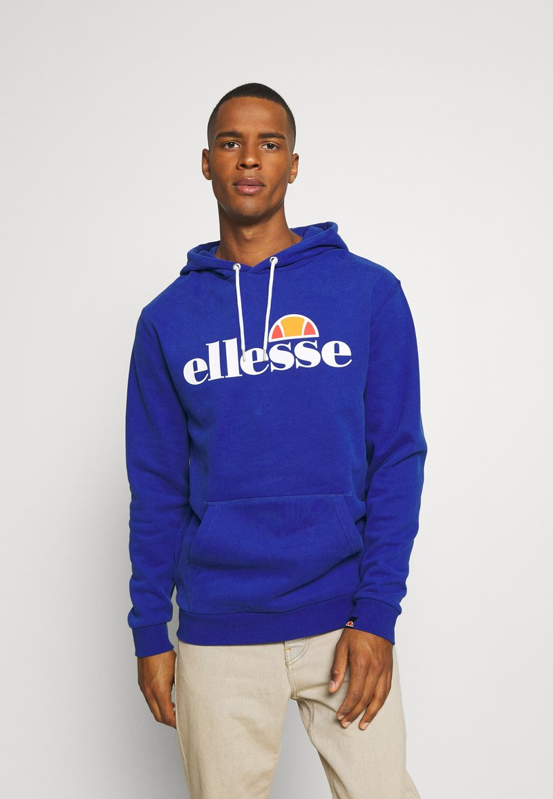 Ellesse - GOTTERO - Bluza z kapturem - blue