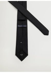 Mango - BASIC7 - Cravatta - noir - 3
