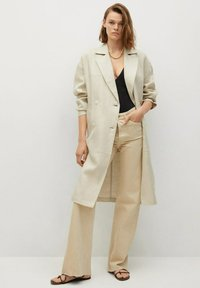 Mango - Classic coat - beige - 1