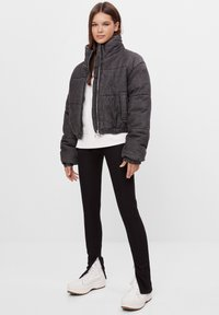 Bershka - Winter jacket - black - 1