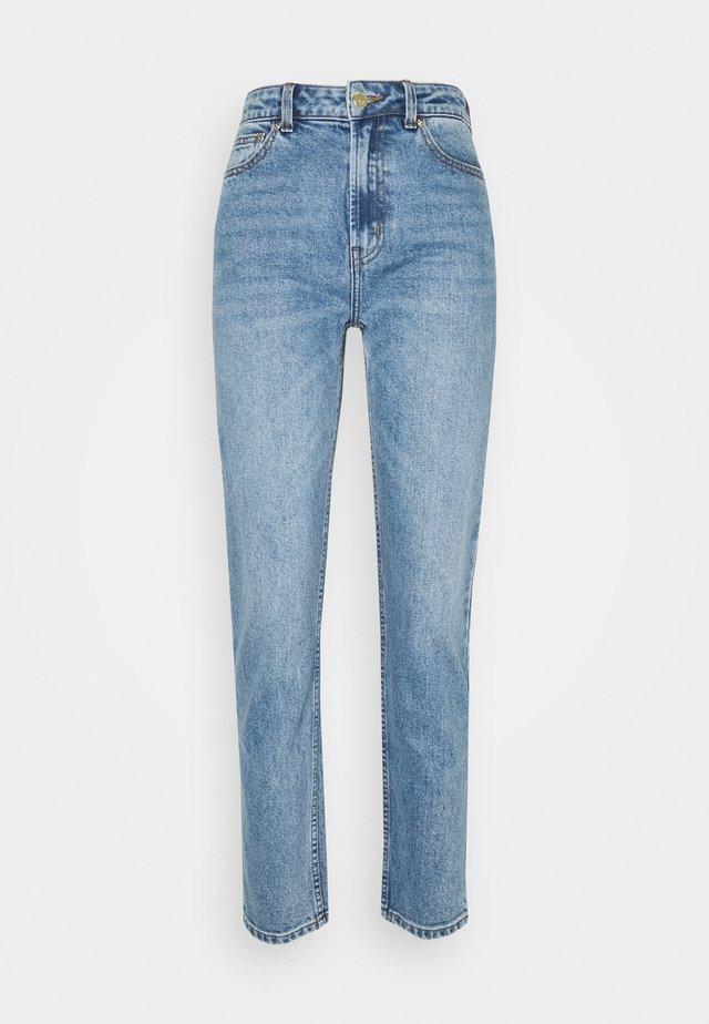 ONLEMILY LIFE ANKLE  - Straight leg jeans - medium-blue denim