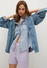 Mango - Denim jacket - middenblauw - 4