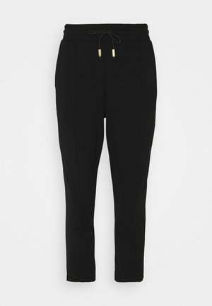 PONTE TIE JOGGER - Tracksuit bottoms - black