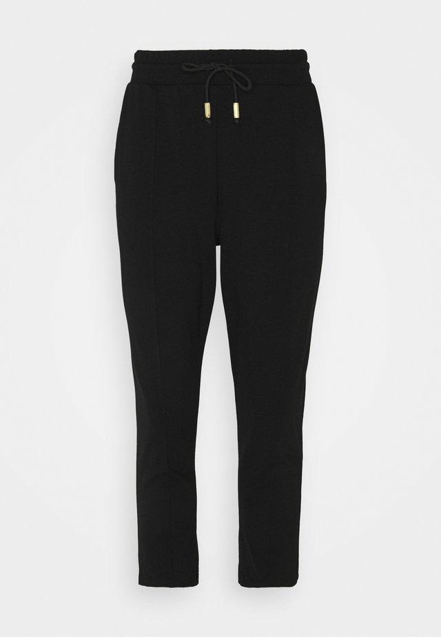 PONTE TIE JOGGER - Teplákové kalhoty - black