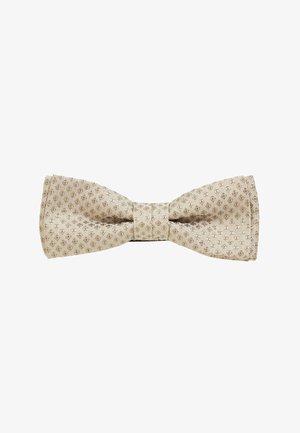 Bow tie - open beige