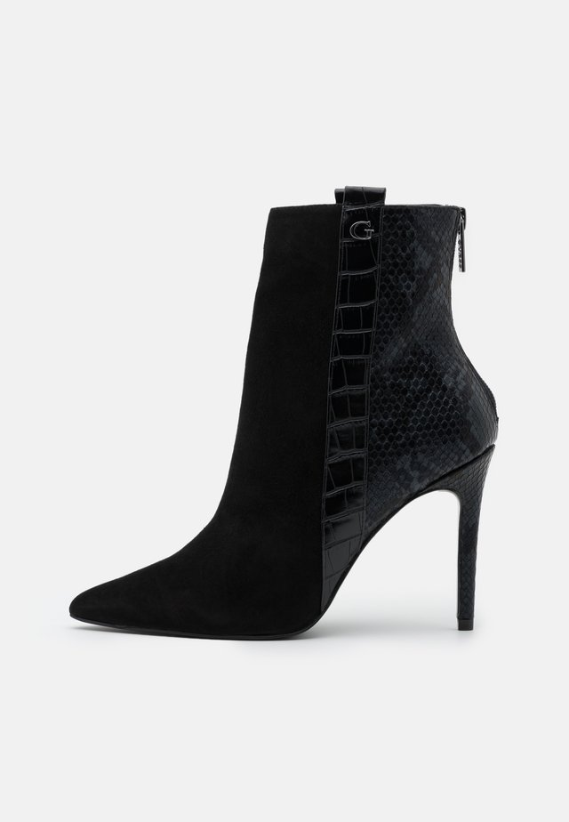 BAIZE - Korte laarzen - black
