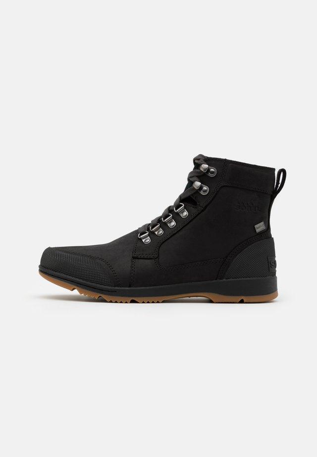 ANKENY II MID - Snørestøvletter - black