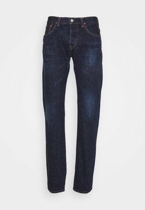 REGULAR - Straight leg jeans - nihon menpu/dark pure indigo rainbow selvage - blue - dark used