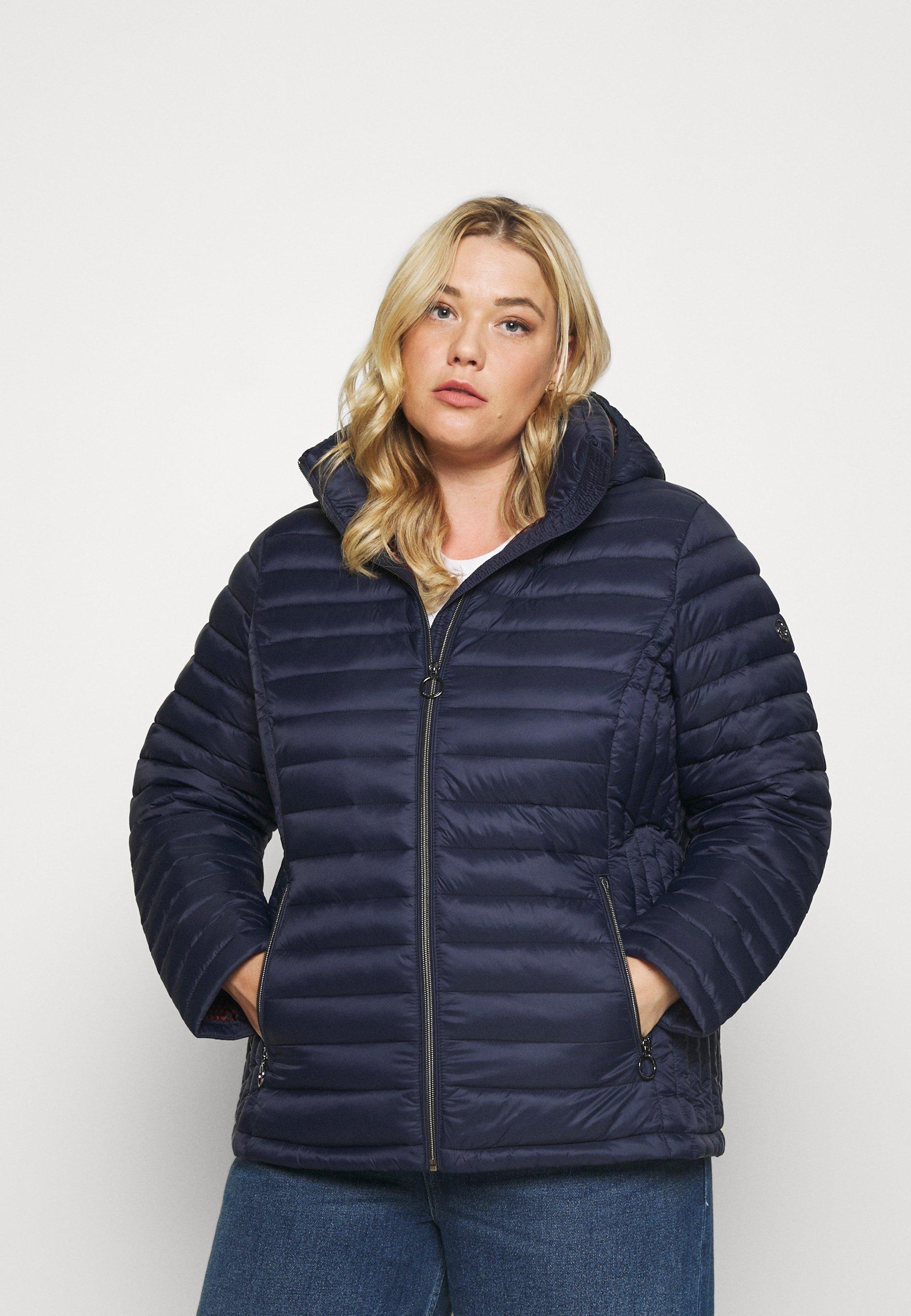 Women ZIP FRONT SHORT PACKABLE  - Light jacket