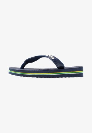 BRASIL LOGO UNISEX - Pool shoes - Navy blue