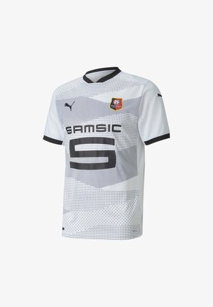 STADE RENNAIS AWAY REPLICA - T-Shirt print - puma white-puma black