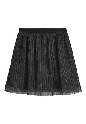 SILVER SKIRT (3-16YRS) - A-line skirt - black