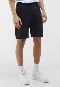 Bershka - Shorts - black - 0