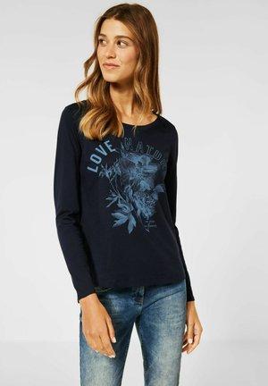 Long sleeved top - blau
