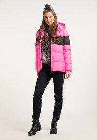 myMo - Winter jacket - pink espresso - 1