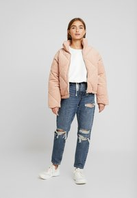 Topshop Petite - TOKYO MOM - Jeans Relaxed Fit - blue denim - 1