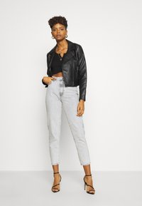 Gina Tricot - DAGNY HIGHWAIST - Relaxed fit jeans - bleached grey - 1