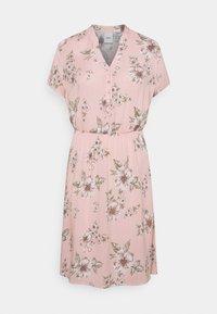 TESSA - Day dress - rose dust