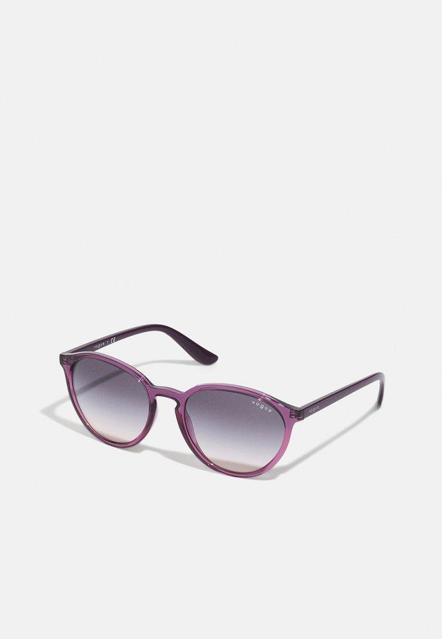 Occhiali da sole - violet transparent