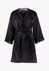Lauren Ralph Lauren - KIMONO ROBE - Dressing gown - black - 3