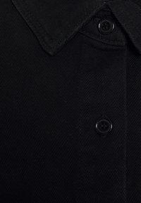 Missguided Petite - DRESS - Denim dress - black - 2