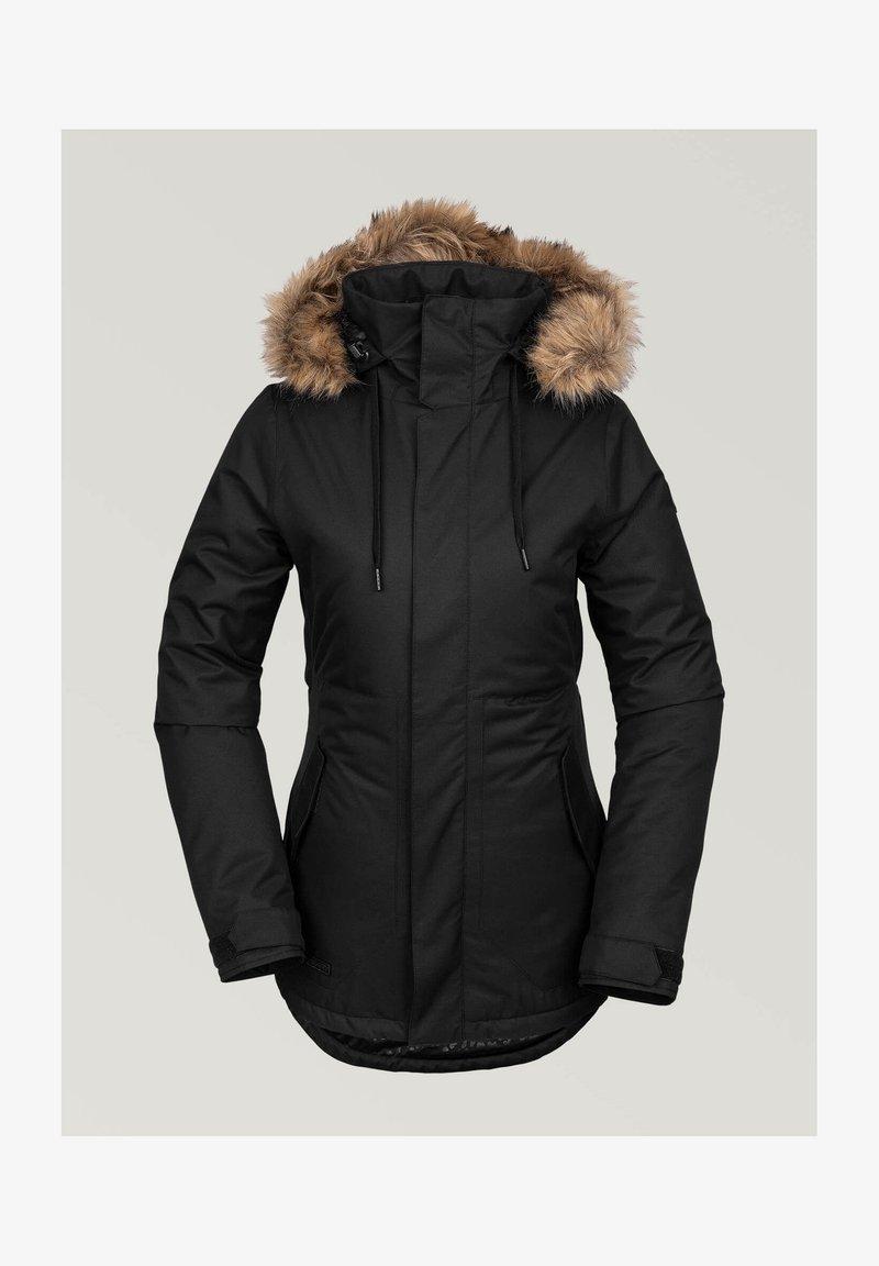 Volcom - FAWN INS JACKET - Snowboard jacket - black